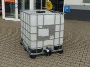 Regenwasserspeicher IBC Container Speicher Bauma