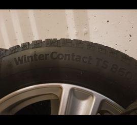 Winter 165 - 185 - 4X100 Alufelgen 15Zoll mit Winterreifen