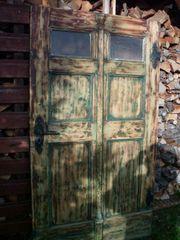 Uralte Haustür Tür Bauernhaus Vintage