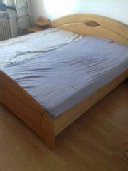 Massivholz Doppelbett Neu