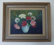 Wunderschönes Gemälde mit Blumen und