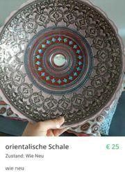 Orientalische Schale