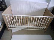 Kombi-Kinderbett Babybett Juniorbett