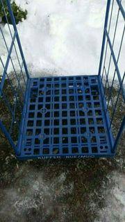 gebrauchte Gitterbox Höhe ca 140cm