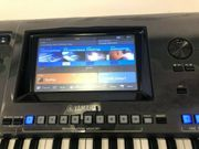 Yamaha Genos-Tastatur