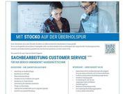 Sachbearbeitung Customer Service m w