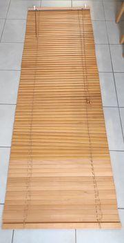 Jalousie aus Holz 240cmx80cm incl