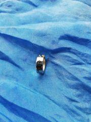 Piercing-Ring mit Drachenmotiv