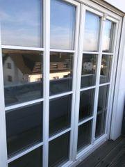 2 Fenster-Elem m Verzier Sprossen