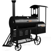 Smoker Lokomotive mit Räucherofen