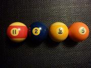 Billiard-Kugeln Original
