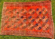 Orientteppich Ersari-Beschir 18 19Jhdt T083