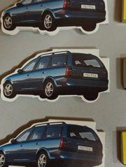 Streichhölzer Schachtel Zündhölzer Opel Vectra -