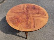 Antiker Holztisch Esstisch rund 90