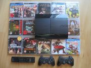 Playstation 3 Super Slim Mega-Komplettpaket