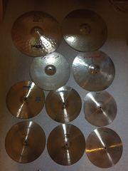 Diverse Schlagzeug Drum Becken Paiste