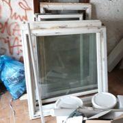 Kunststofffenster Doppelglas zu verschenken