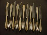 6 Messer 5 Gabeln mit