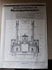 Seitenraddampfer Eisenbahn PACIFIC