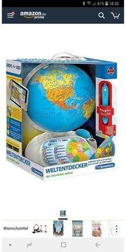 interaktiver Globus mit App Clementoni