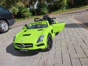 Elektroauto Mercedes AMG SLS fast