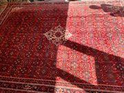 Mechat Teppich rot beige 264