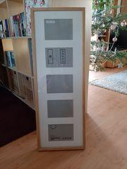 6 Bilderrahmen RIBBA von Ikea