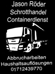 Containerdienst Schrotthandel