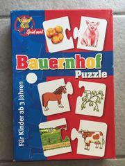 Noris Lernspiel Puzzle Spiel Bauernhof