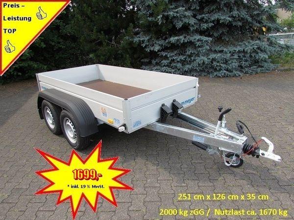 WM - Meyer 2000 kg Anhänger