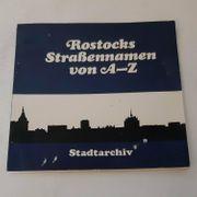 Buch Rostocks Straßennamen von A-Z