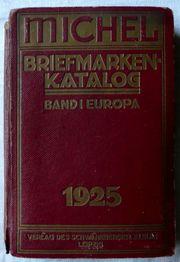 Michel Briefmarken Katalog 1925 Band