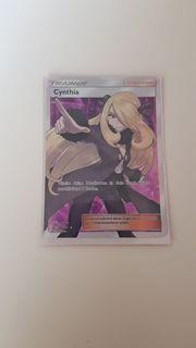 Pokemon Karte Cynthia Fullart aus