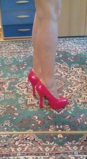 Plateau Pumps High Heels von