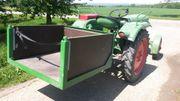 Fendt Fix 2 Traktor mit