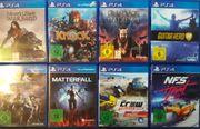 PS4 Switch Spielesammlung TOP ZUSTAND