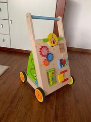 Lauflernwagen Activitycenter NEU Spielwagen Holzwagen