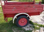Oldtimer Feuerwehr Anhänger Faschingswagen Umzugswagen