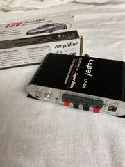 Verstärker amplifier- komplett neu