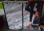 Kleiderschrank Stoff wegen Umzug