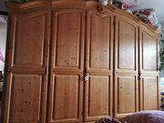 Schlafzimmerschrank Kiefer massiv 5 türig