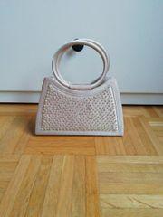 elegant Pailletten Perlen Tasche Handtasche