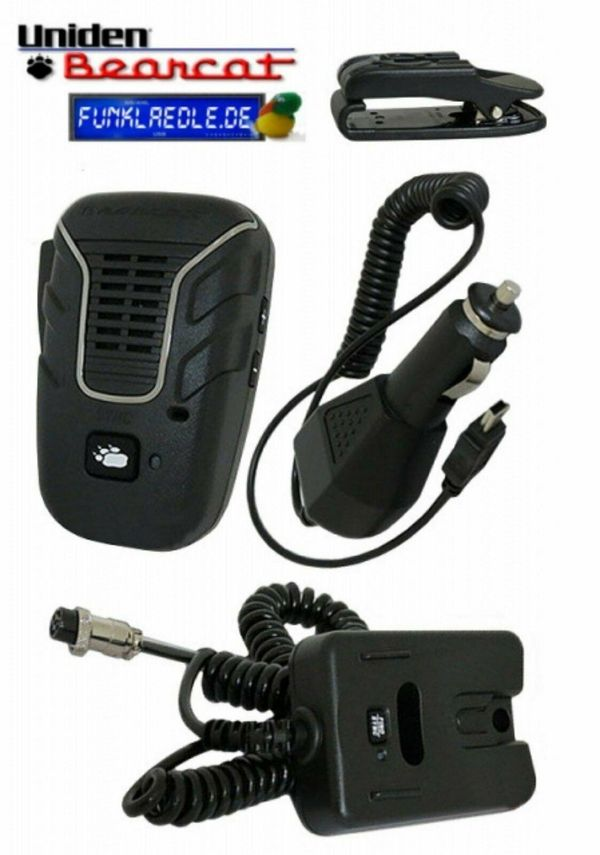 Uniden Bearcat BC906W drahtloses Mikrofon