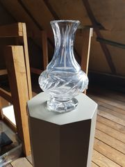 Bleikristall-Vase
