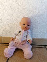 baby born mit zugehörige Kleidung