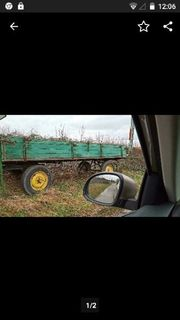 Traktor Anhänger im gebrauchten zustand