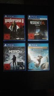 PS 4 Spiele zu verkaufen