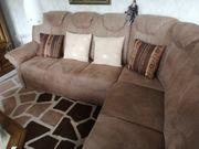 Rundecke Wohnlandschaft Sofa Couch