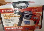 Schlagbohrmaschine - Kraft 2-Gang Profi-Schlagbohrmaschine 1050