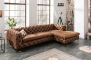 NEU Ecksofa Couch Modern Barock